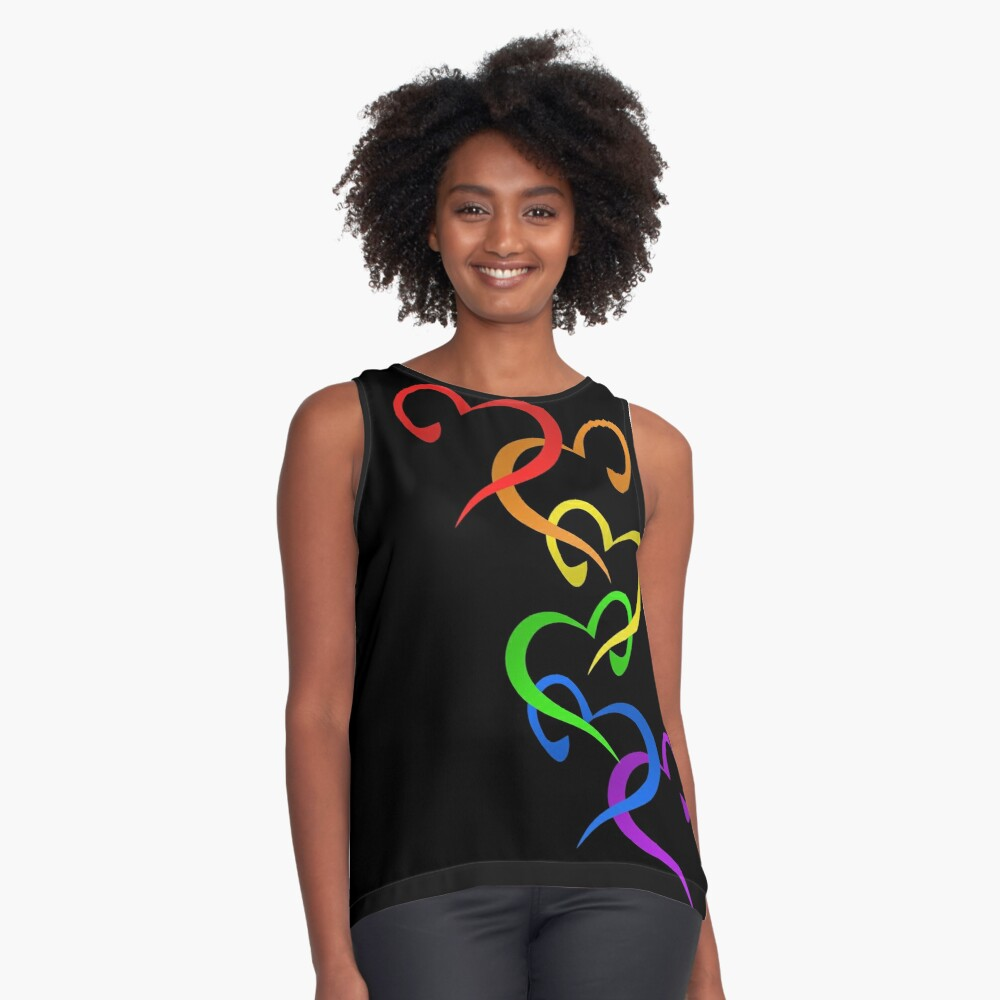 Hearts of PRIDE Sleeveless Top