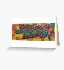 Quetzalcoatl Greeting Card