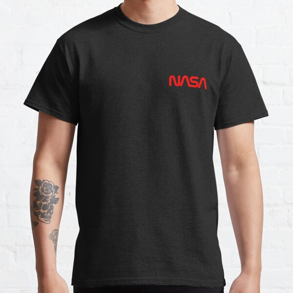 Retro NASA Worm Logo  Classic T-Shirt