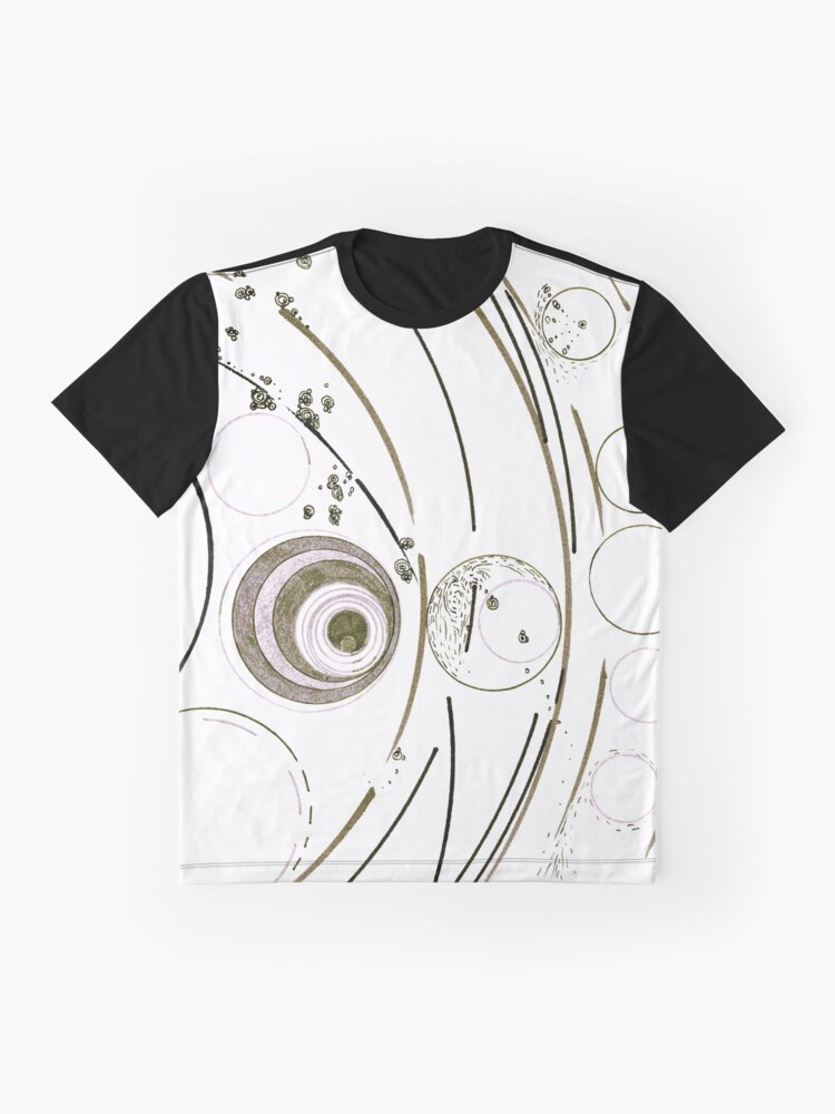 Alternate view of Planetary nursery - ink on paper Graphic T-Shirt