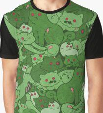 Love Bites Pattern Graphic T-Shirt