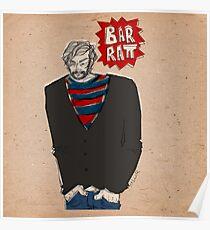 Barratt Squarehands Poster