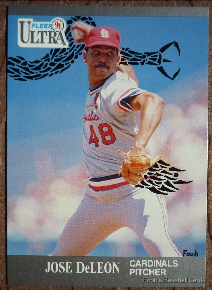 083 - Jose DeLeon by Foob's Baseball Cards