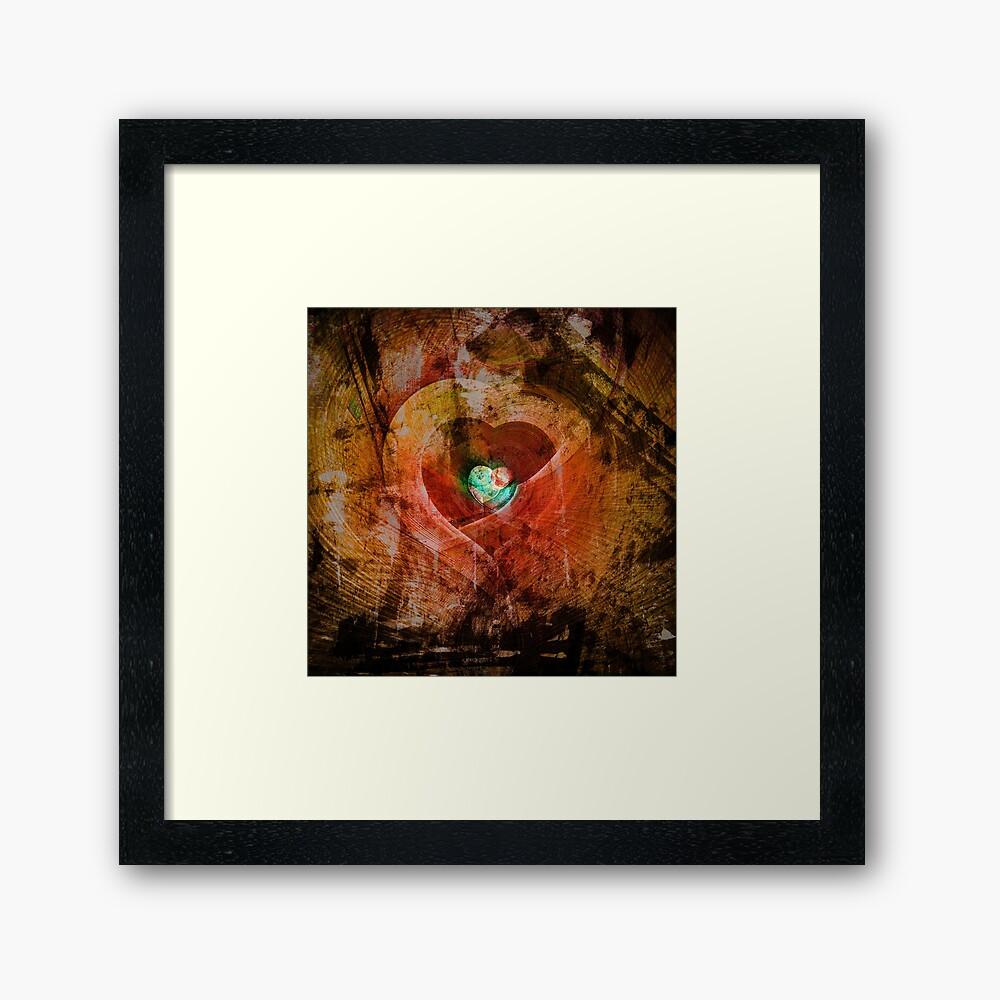 Treasure Your Heart Framed Print