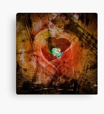Treasure Your Heart Canvas Print