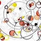 Awake in Reciprocal Space - ink drawing by Regina Valluzzi