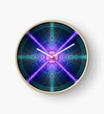 Abstract Pattern Art Clock
