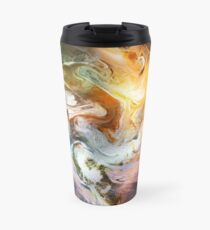 Fluid Movement Abstract Art Travel Mug