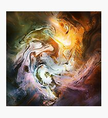 Fluid Movement Abstract Art Photographic Print