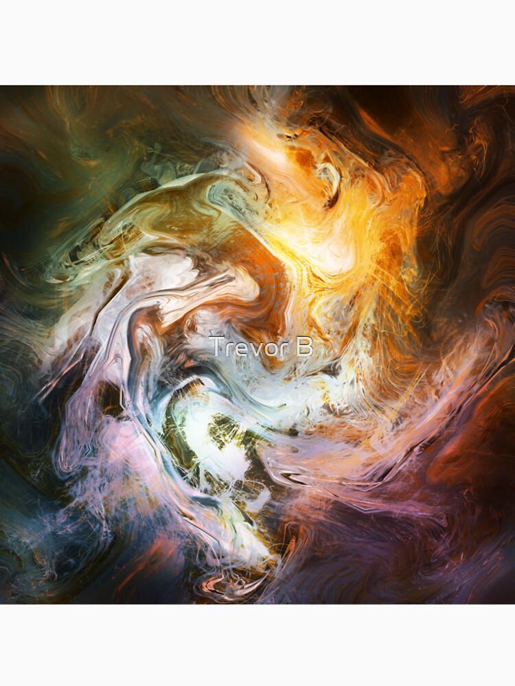 Fluid Movement Abstract Art by CreativeBytes