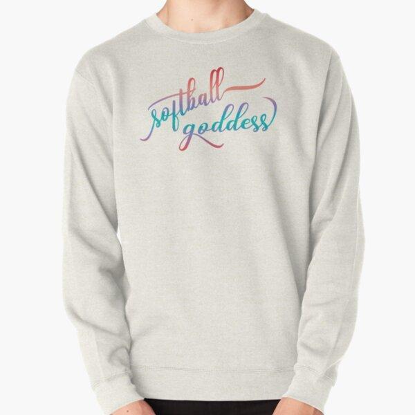 Softball Goddess Summer Ombre Pullover Sweatshirt