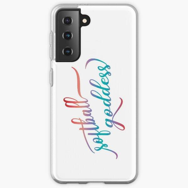 Softball Goddess Summer Ombre Samsung Galaxy Soft Case