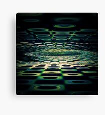 Into the Grid Canvas Print