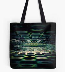 Into the Grid Tote Bag