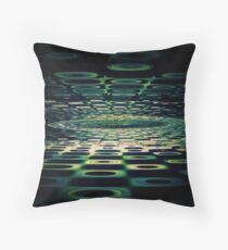 Into the Grid Throw Pillow