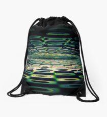 Into the Grid Drawstring Bag