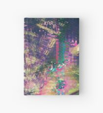 Fragmented Abstract Artwork Hardcover Journal
