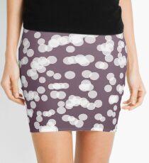 Blurry Lights: Purple Amethyst Mini Skirt