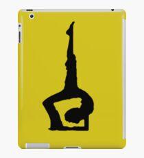 yoga backbend meditation spiritual iPad Case/Skin