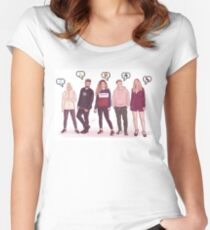 FRIENDS - OT2017 Women's Fitted Scoop T-Shirt