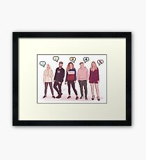 FRIENDS - OT2017 Framed Print
