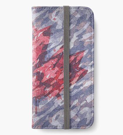 Canadian Flag Maple Leaf iPhone Wallet