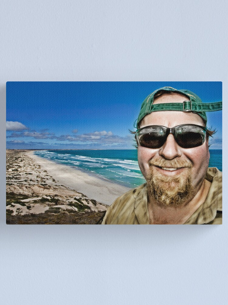 Alternate view of Beach Bum! Canvas Print