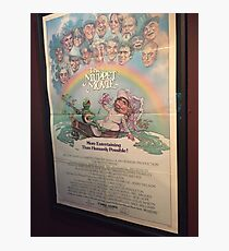 Muppet Movie Poster Photographic Print
