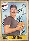 088 - Craig Lefferts by Foob's Baseball Cards