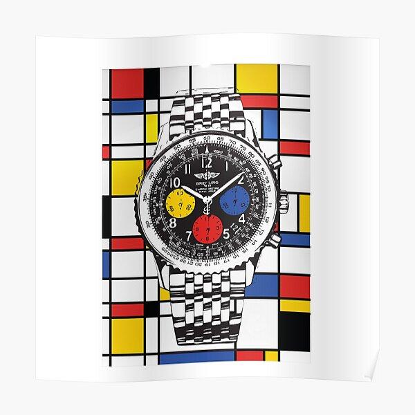 Breitling Mondrian Poster