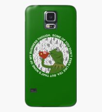 Kermit Sipping Tea (But that's none of my business) Case/Skin for Samsung Galaxy