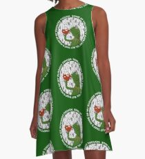 Kermit Sipping Tea (But that's none of my business) A-Line Dress