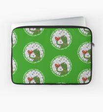 Kermit Sipping Tea (But that's none of my business) Laptop Sleeve