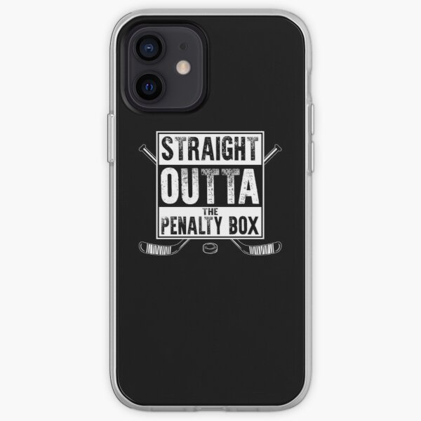 straight outta the penalty box | ice hockey shirt | ice hockey gifts | hockey apparel | hockey goalie | hockey coach | hockey mom | hockey dad | hockey is life iPhone Soft Case