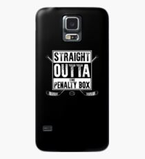 straight outta the penalty box | ice hockey shirt | ice hockey gifts | hockey apparel | hockey goalie | hockey coach | hockey mom | hockey dad | hockey is life Case/Skin for Samsung Galaxy