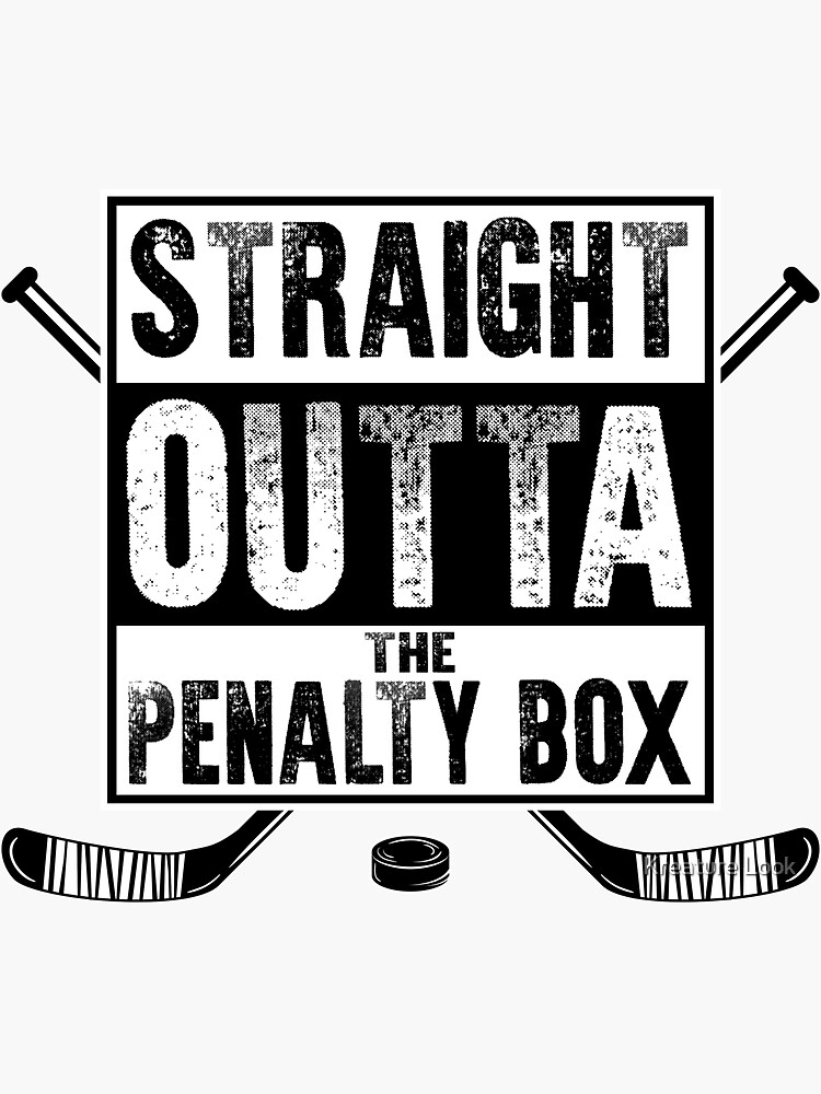 straight outta the penalty box | ice hockey shirt | ice hockey gifts | hockey apparel | hockey goalie | hockey coach | hockey mom | hockey dad | hockey is life by qtstore12