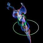 Hula-hoop smoky alien by zulu