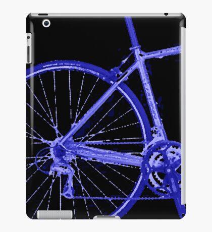 blue bike iPad Case/Skin