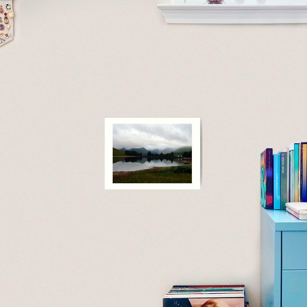Loch  Arklet Art Print