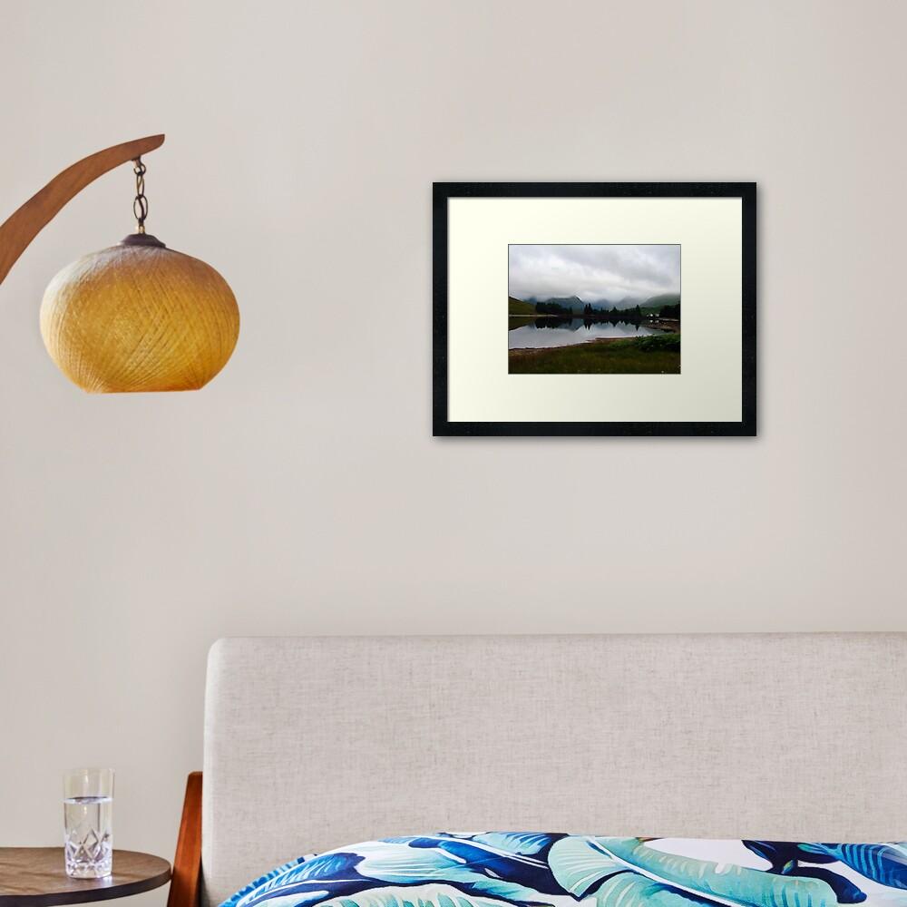 Loch  Arklet Framed Art Print