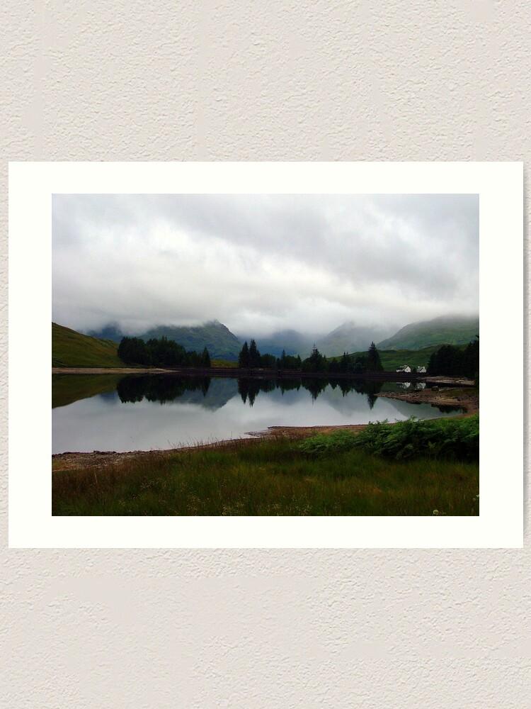 Alternate view of Loch  Arklet Art Print