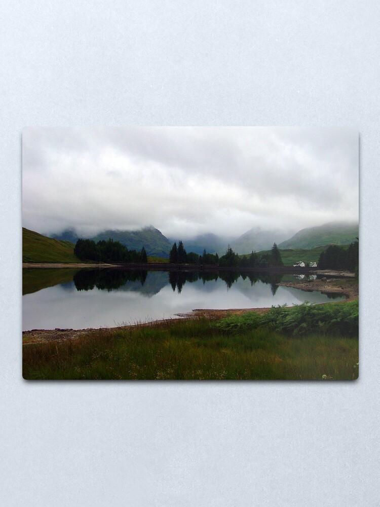 Alternate view of Loch  Arklet Metal Print