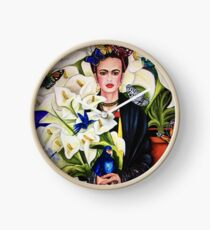 Frida Kahlo Clock