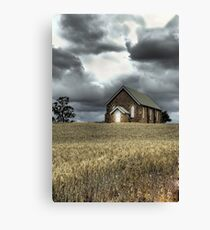 Church at Wallendbeen Canvas Print
