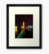 Westminster Bridge Without Daleks Framed Print