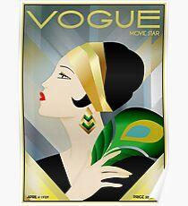 VOGUE: Vintage Flapper Werbung Print 1929 Poster
