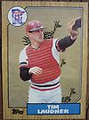 099 - Tim Laudner by Foob's Baseball Cards