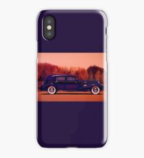 Cadillac V16 Custom Imperial 1937 Painting iPhone Case