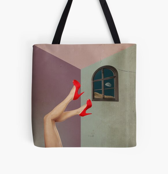 Color Chaos Collection -- Inboxed All Over Print Tote Bag