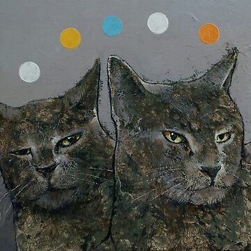 Grey Cats by michaelcreese